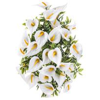 Umělá květina kaly bílá