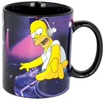 The Simpsons Keramický hrnček DJ Homer 320 ml