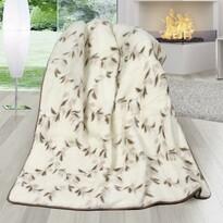 Vlněná deka DUO Australské merino Svlačec, 155 x 200 cm