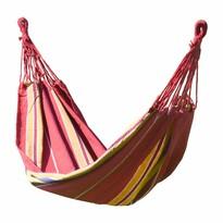 Cattara Hamac leagan cu agatare Textil roșu, 200 x 100 cm
