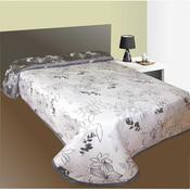 Přehoz na postel Lisabon šedý, 140 x 220 cm
