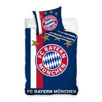 Fotbalové povlečení BMFC 01 Bayern, 160 x 200 cm, 70 x 80 cm