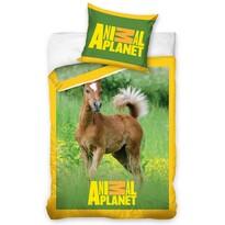 Bavlněné povlečení Animal Planet hříbátko, 140 x 200 cm, 70 x 80 cm