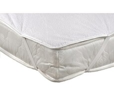 Chránič matrace nepropustný, bílá, 180 x 200 cm
