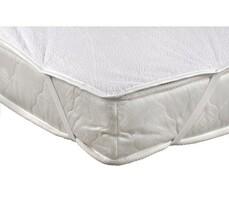 Ochraniacz na materac nieprzepuszczalnypoliuretanowy, biały, 90 x 200 cm