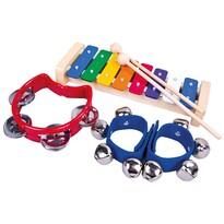 Set de instrumente muzicale Bino 3 bucăți