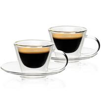 4home Termo sklenice na espresso Elegante Hot&Cool 80 ml, 2 ks