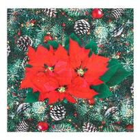 Serweta Świąteczne róże