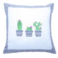 Poszewka na poduszkę Kaktus, 40 x 40 cm