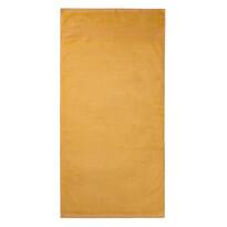 Ręcznik kąpielowy bambus Paris żółty, 70 x 140 cm