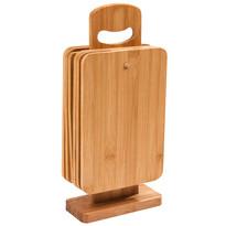 7-częściowy zestaw desek do krojenia na stojaku