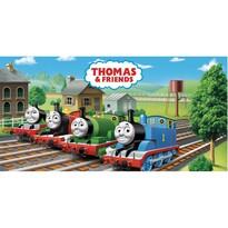 Thomas a gőzmozdony és barátai törölköző , 70 x 140 cm