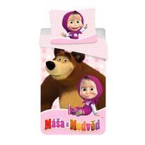 Detské obliečky Máša a Medveď 02, 140 x 200 cm, 70 x 90 cm