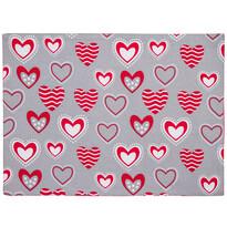 Prestieranie Hearts, 33 x 45 cm