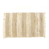 Ručně tkaný koberec Juta světlá, 60 x 90 cm