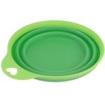 Skládací silikonová miska Colours, zelená