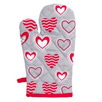 Mănuşă Hearts, 17 x 30 cm