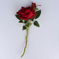 Sztuczna rozkwitła róża, winny