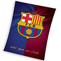 Koc polarowy FC Barcelona DUO, 150 x 200 cm