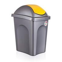 Multipat odpadkový kôš žltá