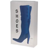 Pojemnik tekstylny na wysokie buty 51,5 x 30 x 11,5 cm, niebieski