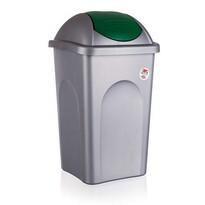 Multipat odpadkový kôš zelená