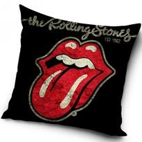 Poduszka Rolling Stones Black, 40 x 40 cm
