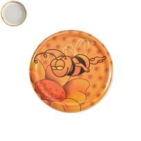 Viečko na zaváracie pohári Med 7 cm, 10 ks