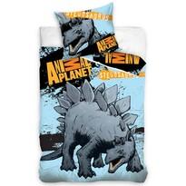 Bavlnené obliečky Animal Planet Stagosaurus, 140 x 200 cm, 70 x 80 cm