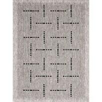 Kusový koberec Floorlux silver/black 20008, 60 x 1