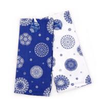 Kuchynská utierka Blue laces, 50 x 70 cm,  sada 2 ks