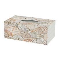 Pudełko na chusteczki Leafs, 24,5 cm
