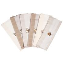 Kávé konyhai törlőkendő, 50 x 70 cm, 6 db-os szett