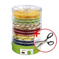 Concept SO-1025 XXL sušička ovocia +darček  nožnice na bylinky