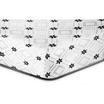 Cearşaf DecoKing Snowynight S2 microfibre, 90 x 200 cm