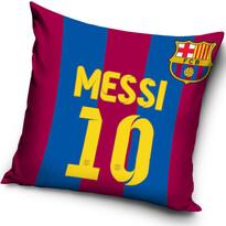 Vankúšik FC Barcelona Messi, 40 x 40 cm