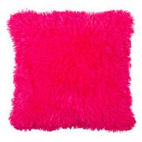 Faţă de pernă miţoasă Peluto Uni, roz, 40 x 40 cm