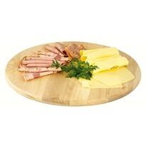 Platou rotativ din lemn, diam. 35 cm