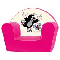 Bino Kisvakond fotel, rózsaszín