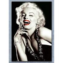 Obraz Marilyn Monroe skleněný