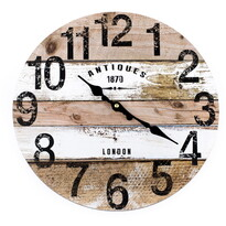 Zegar ścienny Antiques, 34 cm