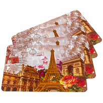 Suport farfurie Paris, 30 x 45 cm, set 4 buc.