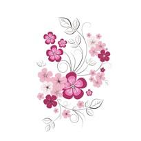 Stickere decorative fluture de primăvară