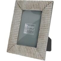 Metallo fényképkeret ezüst, 20 cm
