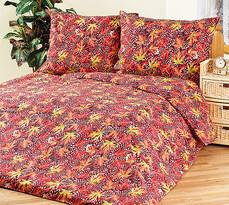 4Home bavlnené obliečky Jesenné lístie, 240 x 220 cm, 2 ks 70 x 90 cm