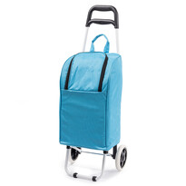 Chladicí nákupní taška na kolečkách Lola, modrá