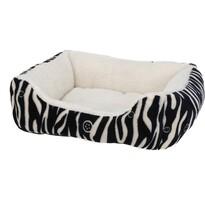 Pelech pro zvířecí miláčky Zebra, černá