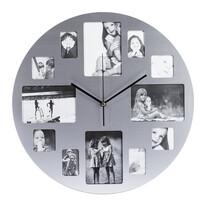 Zegar ścienny ze stali nierdzewnej Picture 39 cm