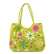Plážová taška Květy