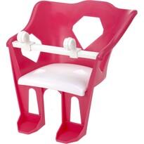 Scaun bicicletă copii pentru păpuşă, roz